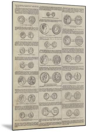 Numismatic Illustrations of the Narrative Portions of the New Testament, by John Yonge Akerman--Mounted Giclee Print