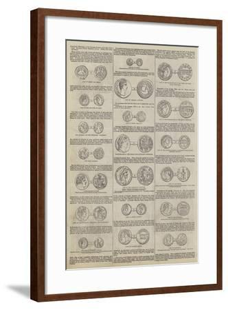 Numismatic Illustrations of the Narrative Portions of the New Testament, by John Yonge Akerman--Framed Giclee Print
