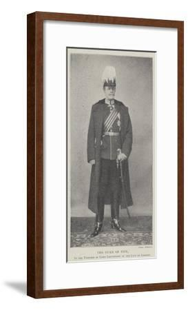 The Duke of Fife, in the Uniform of Lord Lieutenant of the City of London--Framed Giclee Print