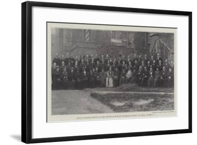 Annual Diocesan Festival of the Church of England Temperance Society at Dover, 17 October--Framed Giclee Print