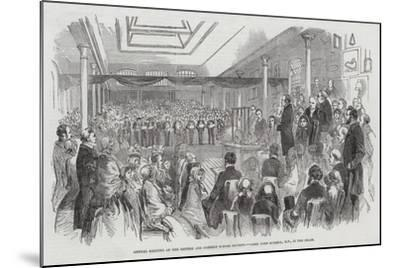 Annual Meeting of the British and Foreign School Society, Lord John Russell, Mp, in the Chair--Mounted Giclee Print