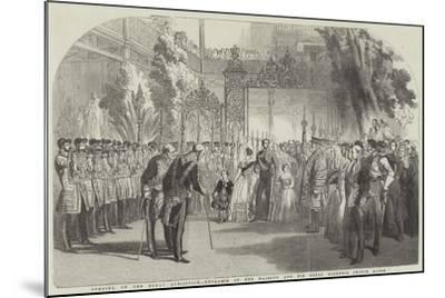 Opening of the Great Exhibition, Entrance of Her Majesty and His Royal Highness Prince Albert--Mounted Giclee Print