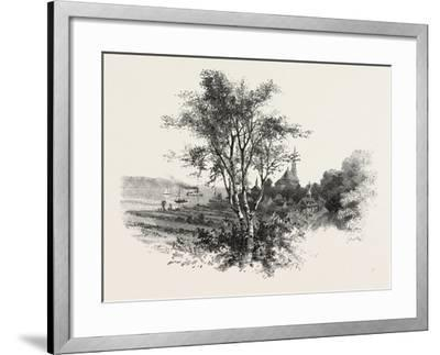 French Canadian Life, Chateau Richer, Canada, Nineteenth Century--Framed Giclee Print