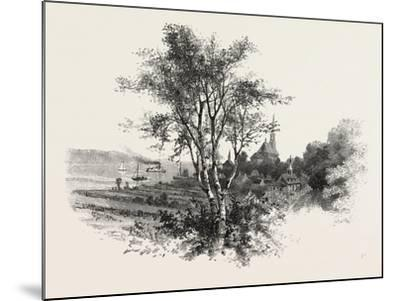 French Canadian Life, Chateau Richer, Canada, Nineteenth Century--Mounted Giclee Print