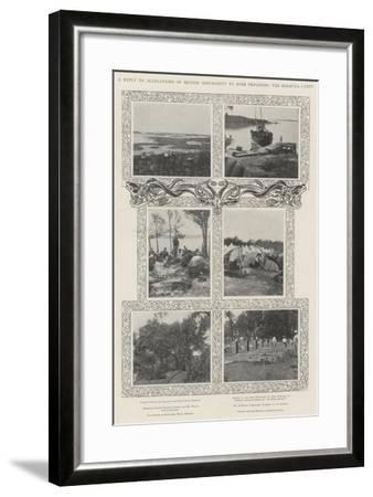 A Reply to Allegations of British Inhumanity to Boer Prisoners, the Bermuda Camps--Framed Giclee Print
