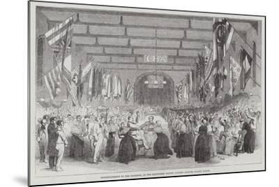 Entertainment to the Patients, at the Middlesex County Lunatic Asylum, Colney Hatch--Mounted Giclee Print