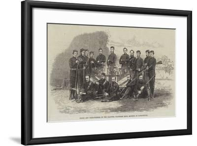Prizes and Prize-Winners of the Calcutta Volunteer Rifle Matches at Barrackpore--Framed Giclee Print