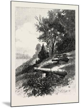 Montreal, Old Battery, St. Helen's Island, Canada, Nineteenth Century--Mounted Giclee Print