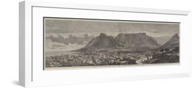 Cape Town, Cape of Good Hope, Recently Visited by His Royal Highness the Duke of Edinburgh--Framed Giclee Print