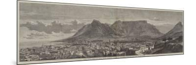 Cape Town, Cape of Good Hope, Recently Visited by His Royal Highness the Duke of Edinburgh--Mounted Giclee Print