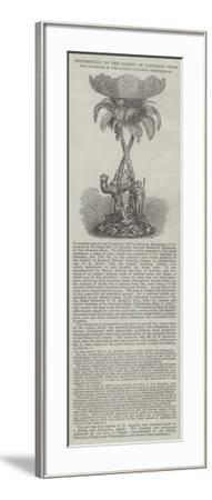 Testimonial to the Bishop of Tasmania from the Students of the Normal College, Cheltenham--Framed Giclee Print