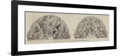 Sculpture for the Offices of the Lancashire Life and Fire Insurance Company at Manchester--Framed Giclee Print