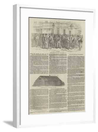Messers Peto, Brassey, and Betts, and the Railway from Balaclava to Sebastopol--Framed Giclee Print