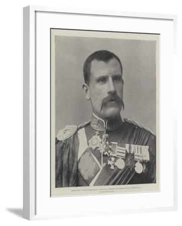 Fighting Mac, Major-General Hector a Macdonald, Commanding the Highland Brigade in South Africa--Framed Giclee Print