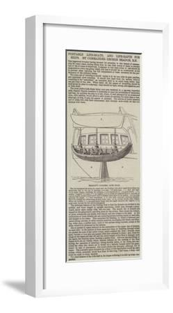 Portable Life-Boats, and Life-Rafts for Ships, by Commander George Beadon, Rn--Framed Giclee Print