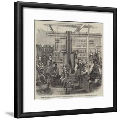 Boys' Refuge, Great Queen-Street, Lincoln'S-Inn Fields, the Shoemaking Department--Framed Giclee Print