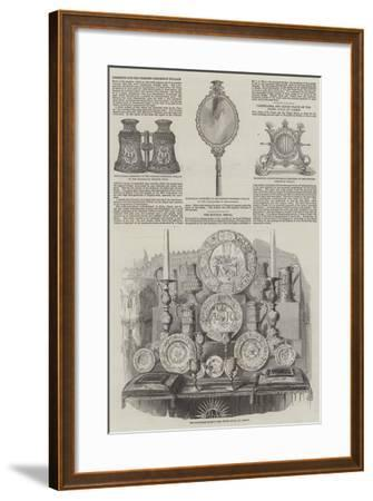 Royal Wedding of Victoria, Princess Royal, and Frederick III of Germany--Framed Giclee Print