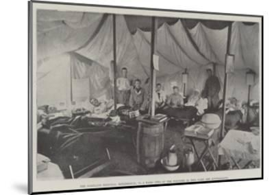 The Portland Hospital, Rondebosch, No 9 Ward, Two of the Wounded in This Ward are Australians--Mounted Giclee Print
