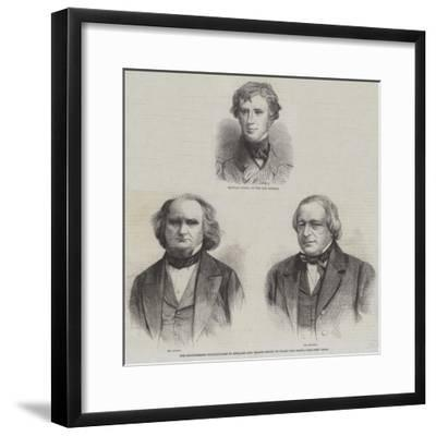 The Confederate Commissioners to England and France Seized on Board the Trent--Framed Giclee Print