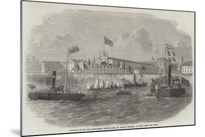 Reception of the Kars Commanders, Colonel Lake and Captain Thompson, at Hull--Mounted Giclee Print
