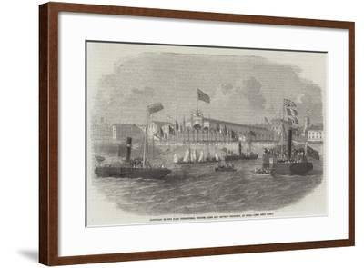 Reception of the Kars Commanders, Colonel Lake and Captain Thompson, at Hull--Framed Giclee Print