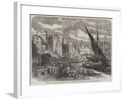 Range of Old Moorish Buildings at Algiers to Be Pulled Down to Make Room for the Boulevard De L'Imp--Framed Giclee Print