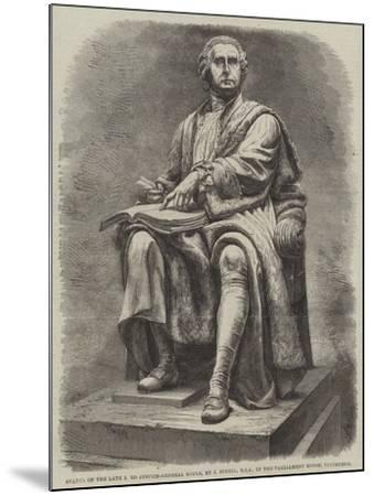 Statue of the Late Lord Justice-General Boyle, by J Steell, Rsa, in the Parliament House, Edinburgh--Mounted Giclee Print