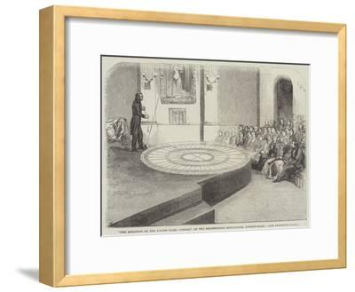 The Rotation of the Earth Made Visible, at the Polytechnic Institution, Regent-Street--Framed Giclee Print