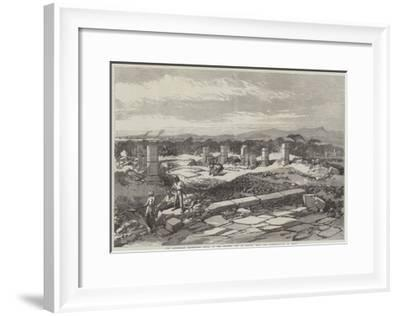 The Abyssinian Expedition, Ruins of the Ancient City of Adulis, Near the Landing-Place at Zulla--Framed Giclee Print