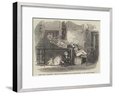 Scene from Apartments, Visitors to the Exhibition May Be Accommodated, at the Princess' Theatre--Framed Giclee Print