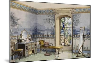 Design of bathroom 1900 by georges remon 1889 1963 from