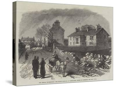 The Fenian Insurrection, the Police Barrack at Kilmallock, County of Limerick--Stretched Canvas Print