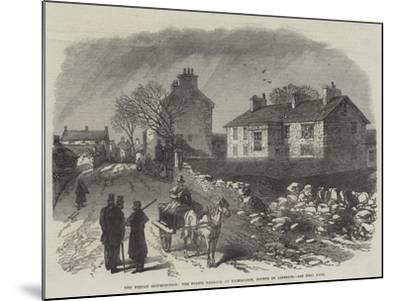 The Fenian Insurrection, the Police Barrack at Kilmallock, County of Limerick--Mounted Giclee Print