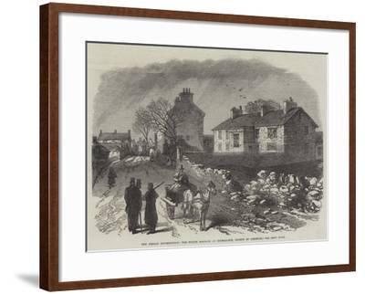 The Fenian Insurrection, the Police Barrack at Kilmallock, County of Limerick--Framed Giclee Print