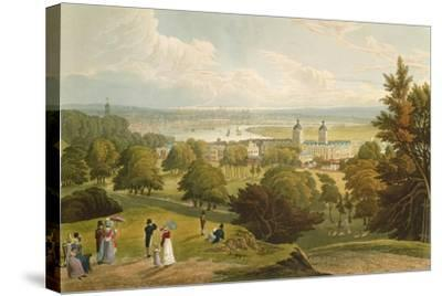 A View of London Taken from Greenwich Park, Pub. 1820 by Colnaghi and Co.--Stretched Canvas Print