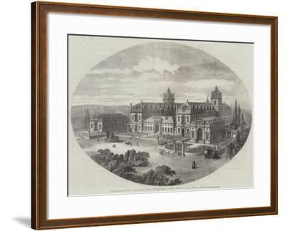 The Wellington College, Near Sandhurst, South Front, John Shaw, Architect--Framed Giclee Print