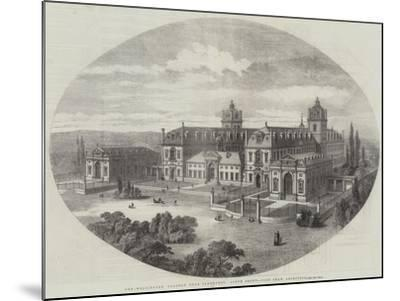 The Wellington College, Near Sandhurst, South Front, John Shaw, Architect--Mounted Giclee Print