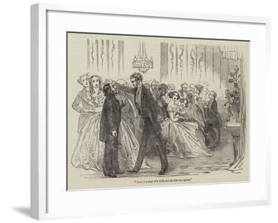 The Fear of the World; Or, Living for Appearances, by the Brothers Mayhew--Framed Giclee Print