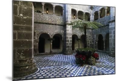Cloister in Pena National Palace, Sintra (Unesco World Heritage List, 1995), Portugal, 19th Century--Mounted Giclee Print
