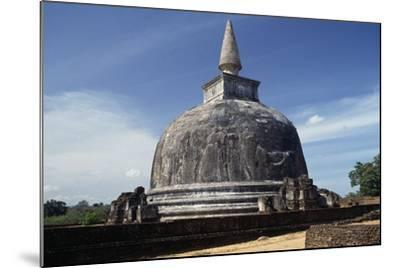 Dagoba Kiri Vihara, Polonnaruwa (Unesco World Heritage List, 1982), Sri Lanka--Mounted Giclee Print