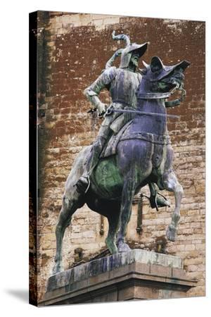 Monument to Francisco Pizarro (Ca 1475-1541), Trujillo, Extremadura, Spain--Stretched Canvas Print