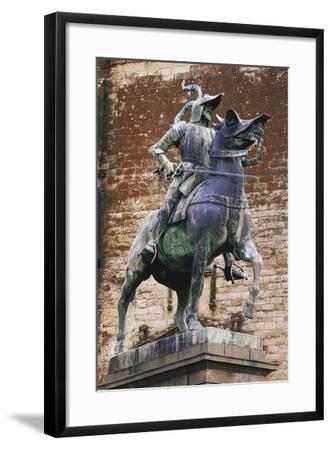 Monument to Francisco Pizarro (Ca 1475-1541), Trujillo, Extremadura, Spain--Framed Giclee Print