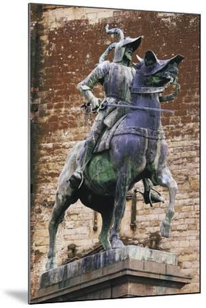 Monument to Francisco Pizarro (Ca 1475-1541), Trujillo, Extremadura, Spain--Mounted Giclee Print