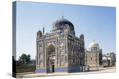 Tombs of Talpur Mirs, Hyderabad Sindh Region of Pakistan, 19th Century--Stretched Canvas Print