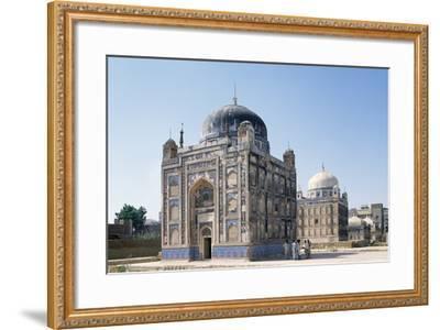 Tombs of Talpur Mirs, Hyderabad Sindh Region of Pakistan, 19th Century--Framed Giclee Print