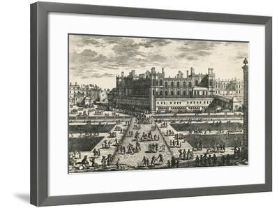 Chateau De Saint-Germain-En-Laye, by Perelle, France, 17th Century--Framed Giclee Print