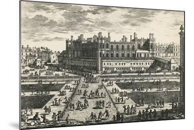 Chateau De Saint-Germain-En-Laye, by Perelle, France, 17th Century--Mounted Giclee Print