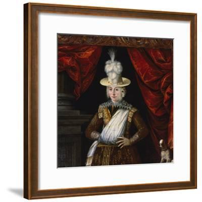 Lady Dona' Dalle Rose, Ca 1625, Painting by Unknown Italian Artist, Italy, 17th Century--Framed Giclee Print