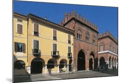 Low Angle View of Buildings, Town Hall Square, Cremona, Lombardy, Italy--Mounted Giclee Print