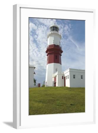 The Lighthouse (1879) on Saint David's Island, Bermuda (British Overseas Territory), United Kingdom--Framed Photographic Print